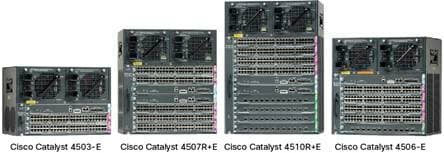 Cisco Catalyst 4500 Series Switches Data Sheet