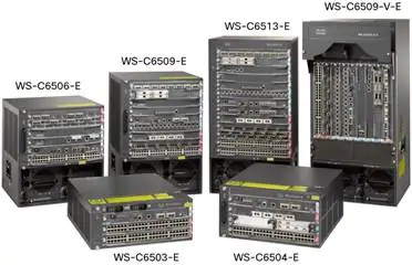 Cisco Catalyst 6500-E Series Chassis