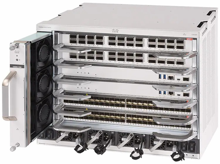 Cisco Catalyst 9606R Chassis