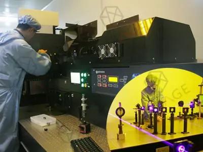 dot matrix hologram machine, etch optical image